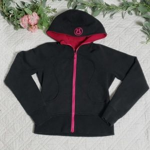 Lululemon Womens Gray and Pink Full Zip Jacket 6